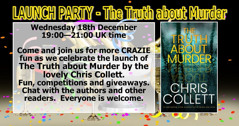 Launch Party – Truth about Murder